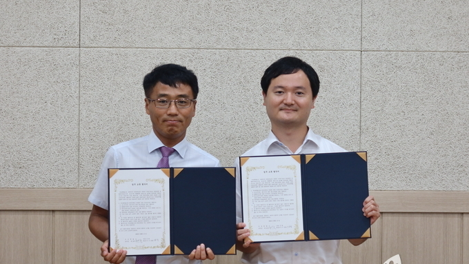 반려동물 문화 활성화를 위해 의성펫월드와 (주)선진펫이 업무협약을 체결했다.